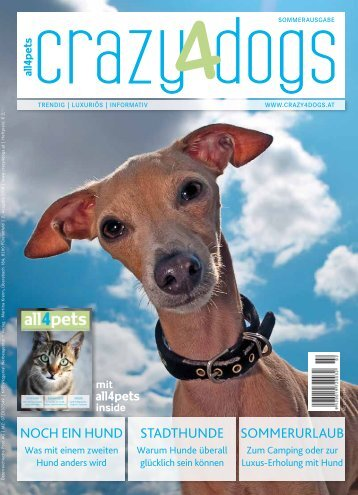 crazy4dogs – Sommerausgabe 2018