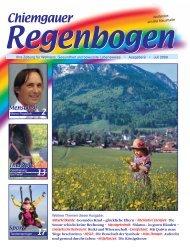 Energetischen Psychologie - Chiemgauer Regenbogen