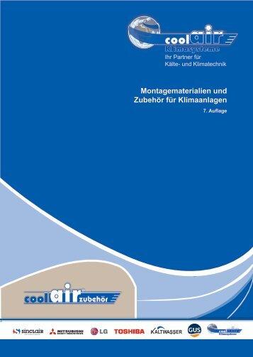 Zubehoer Katalog 7. Auflage 2018 / 2019