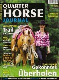 Quelle Zeitschrift Quarterhorse Journal - Katrin Obst