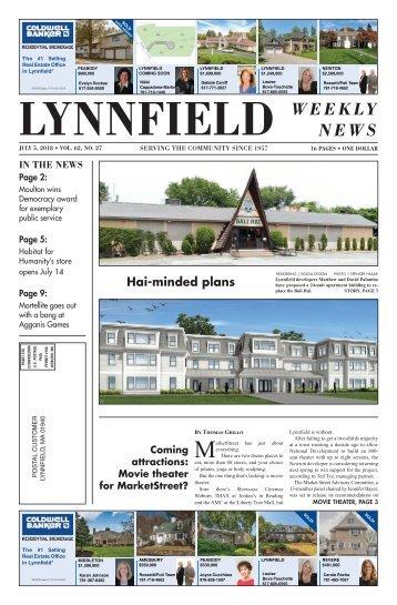 Lynnfield 7-5-2018