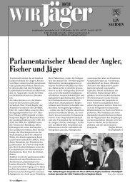einladung zum Jägerball 2011 - Landesjagdverband Sachsen e. V.