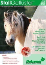 Kritisch betrachtet: Freund Pferd? Sanft und wirksam ...