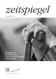 Hauszeitung Nr. 2 / 2011 - Regionales Pflegezentrum Baden