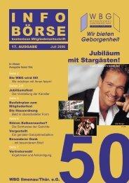PDF-Datei - bei der WBG - Wohnungsbaugenossenschaft Ilmenau ...