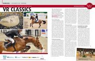 VR CLASSICS 18. bis 21. Februar - Pferd+Sport