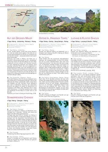 China – Teil 2 - EAST ASIA TOURS GmbH