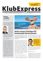 Klubexpress Juli 2018