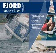 """Mit der """"Feodora"""" nach Sonder- burg zum Bummeln ... - Fjord maritim"""
