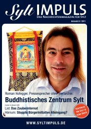 syltimpuls 6/2011 - SYLTIMPULS | Das Nachrichtenmagazin für Sylt