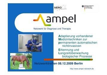 Präsentation von Forschungsprojekten und - ampel