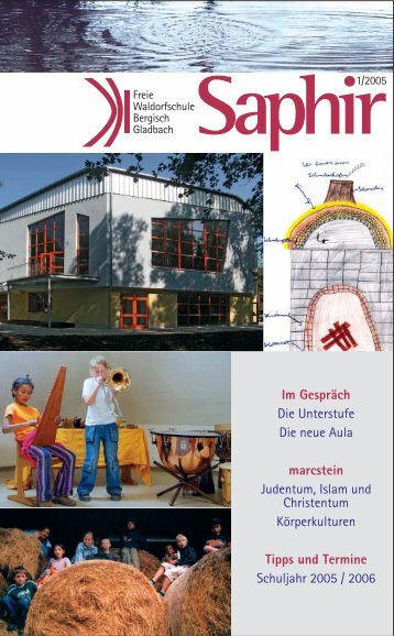 Download der Saphir - Freie Waldorfschule Bergisch Gladbach