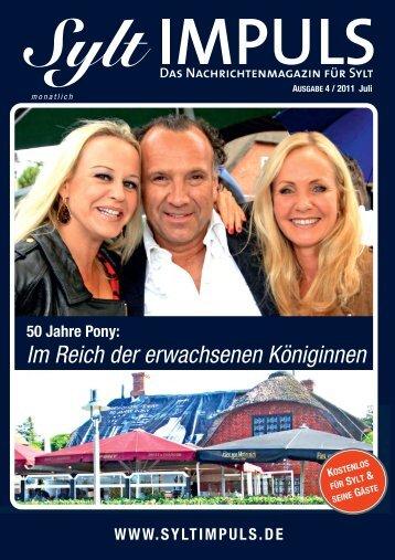 syltimpuls 4/2011 - SYLTIMPULS | Das Nachrichtenmagazin für Sylt