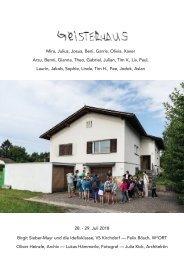 booklet Geisterhaus Nummer 4