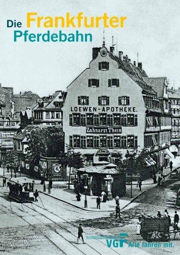 Die Frankfurter Pferdebahn - vgF