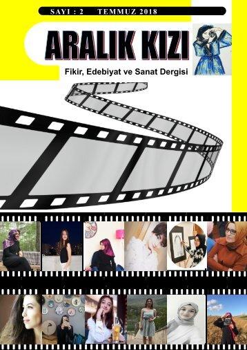 ARALIK KIZI Fikir, Edebiyat, Sanat Dergisi 2. Sayı