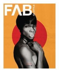 FAB L'Style Issue 001  Iconic