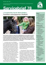 Servicebrief Nr. 78 - Pferdesportverband Südbaden eV
