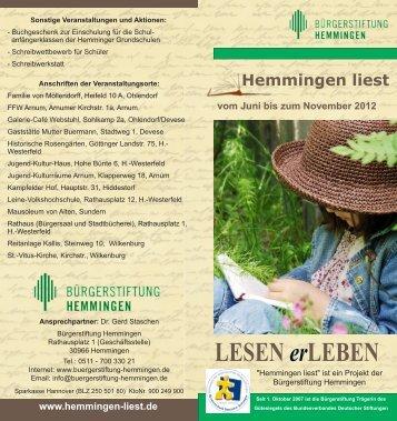 D:/Bürgerstiftung/Leseprojekt/Heli 2012 außen.sla - Hemmingen liest