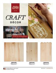 Craft Decor