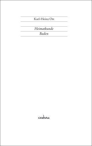 Heimatkunde Baden - Hoffmann und Campe Verlag