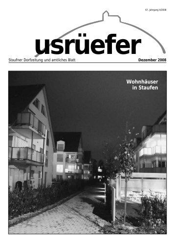 4. Ausgabe Dezember [PDF, 3.33 MB] - Staufen