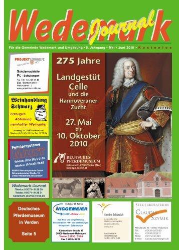 Mai/Juni 2010 - Wedemark Journal und Kulturjournal190