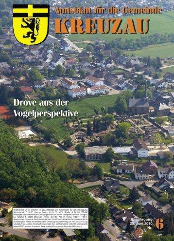 Amtsblatt Nr. 06/2010 vom 25.06.2010 - Gemeinde Kreuzau