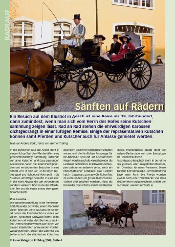 radla uf - Birseck Magazin