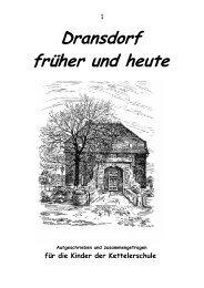 Dransdorf früher und heute - Ortsausschuss Bonn-Dransdorf