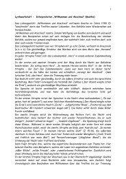 Lili Goethe Lyrikschadchen De