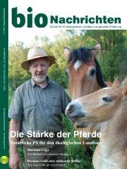 Die Stärke der Pferde - Biokreis