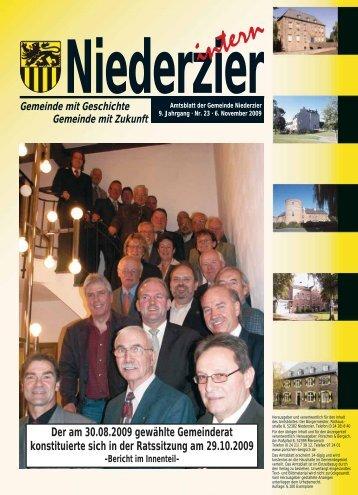 Garagen · Tore · Antriebe - Gemeinde Niederzier