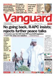 06072018 - No going back, R-APC insists; rejects further peace talks