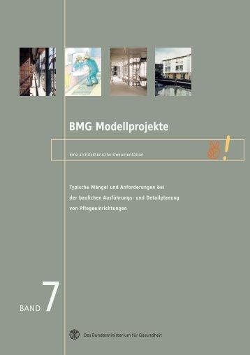 BMG Modellprojekte Band 7 - Kuratorium Deutsche Altershilfe