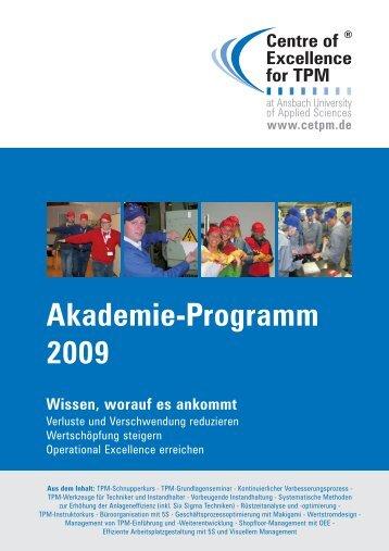 Akademieprogramm CETPM 2009.pmd
