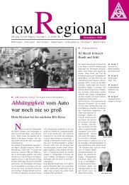 VVS-Firmenticket - IG Metall Region Stuttgart