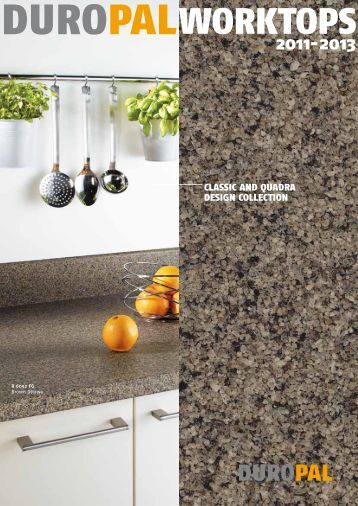 Duropal Worktops Brochure 2011-2013