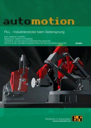 FILL - Industrieroboter beim Seitensprung - B&R Automation