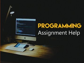 Assistance with programming assignment