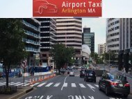 Boston Logan Airport Taxi Service