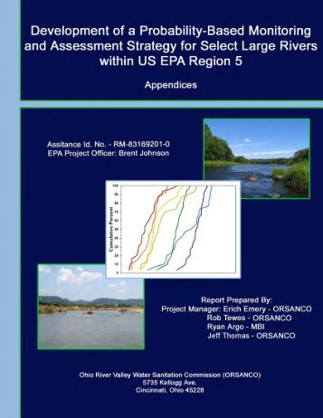Appendices - US Environmental Protection Agency