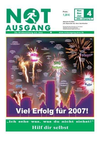 Aktion Wandlungswelten - NOTausgang Jena eV