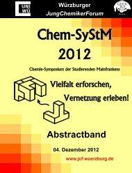 Anorganische Chemie und Materialwissenschaften