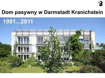 Dom pasywny w Darmstadt Kranichstein - WAZE