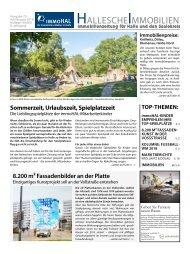 Hallesche Immobilienzeitung Ausgabe 75 Juli/August 2018