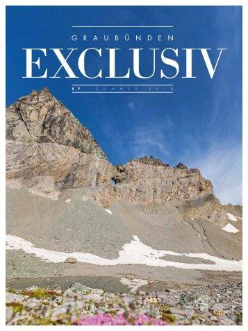 Graubünden Exclusiv – Sommer 2018