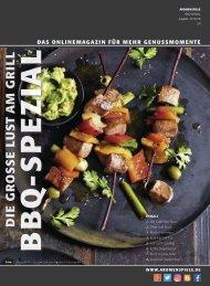 BBQ-SPEZIAL – Die große Lust am Grill