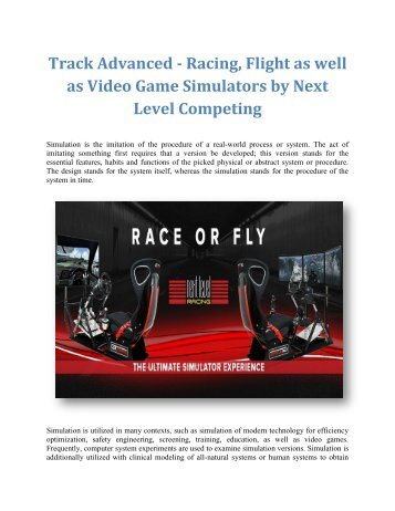 Shop Next Level Flight Simulators