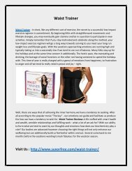 Makes Your Body Slim With Waist Trainer